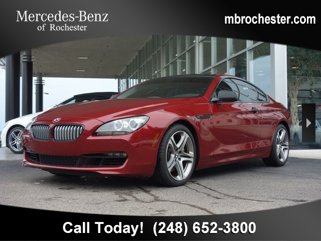 Pre-Owned 2012 BMW 6 Series 650i xDrive