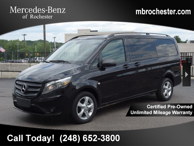 Certified Pre Owned 2016 Mercedes Benz Metris Penger Mini Van
