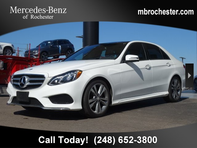 Pre Owned 2016 Mercedes Benz E Cl 350 Sport