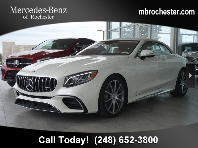 New 2019 Mercedes-Benz S-Class AMG® S 63 Cabriolet