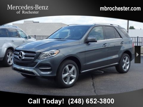 New 2019 Mercedes-Benz GLE 400 AWD 4MATIC®