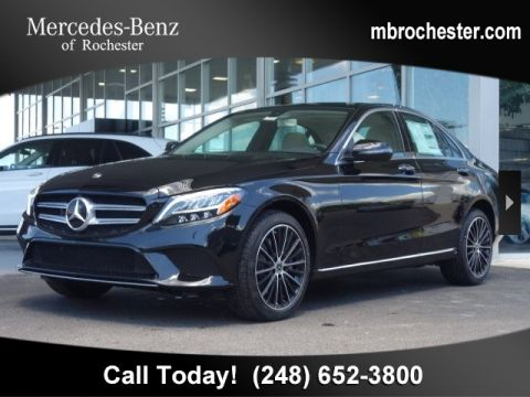 New 2019 Mercedes-Benz C 300 AWD 4MATIC®