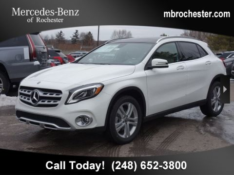 New 2019 Mercedes-Benz GLA 250 AWD 4MATIC®