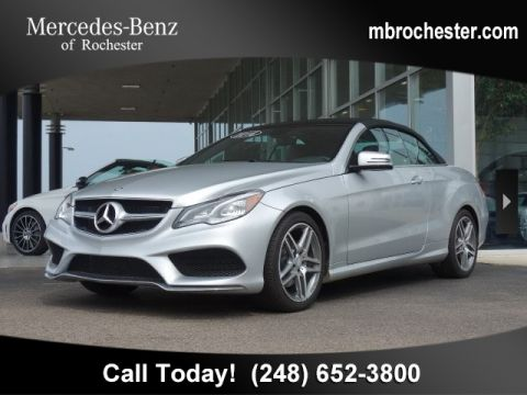 Pre-Owned 2017 Mercedes-Benz E-Class E 400 Sport
