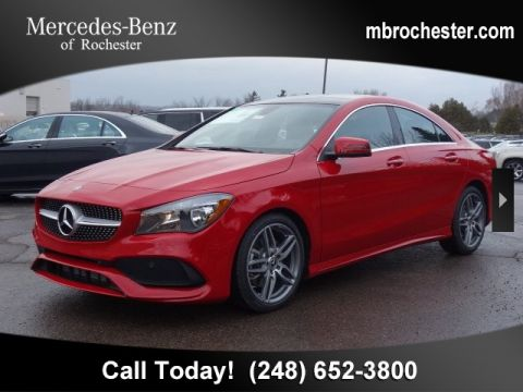 New 2019 Mercedes-Benz CLA 250 AWD 4MATIC®
