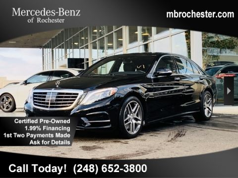 Certified Pre-Owned 2015 Mercedes-Benz S-Class S 550 Sport