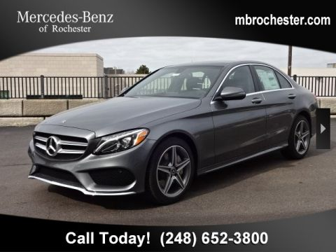 New 2018 Mercedes-Benz C 300 Sport AWD 4MATIC®