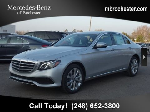New 2019 Mercedes-Benz E 300 Luxury AWD 4MATIC®