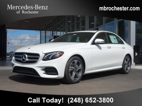 New 2019 Mercedes-Benz E 300 Sport AWD 4MATIC®